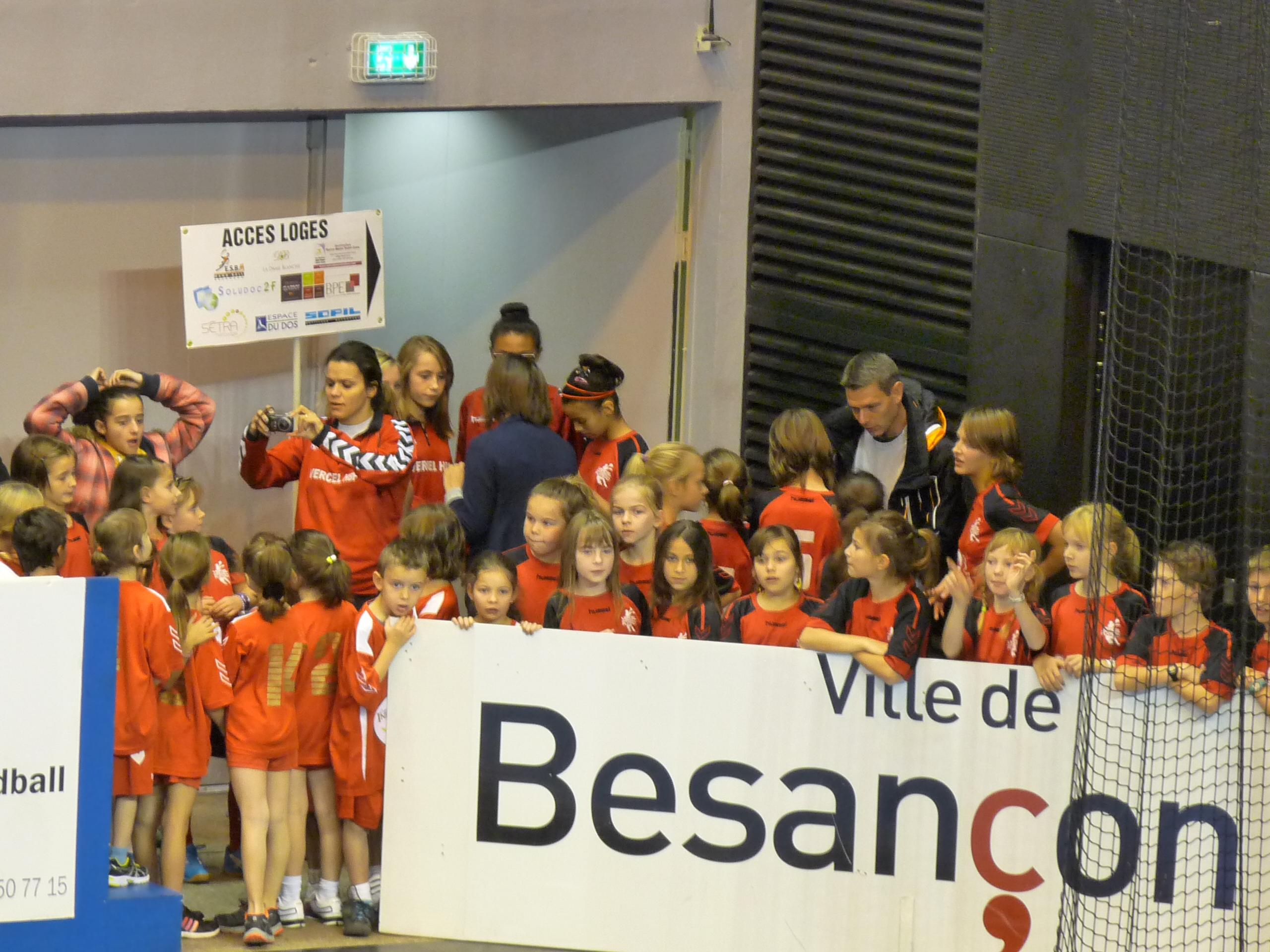 avant le match