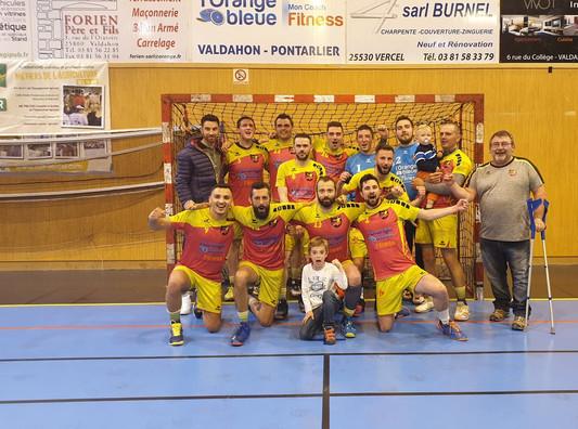Les +16 M champions !