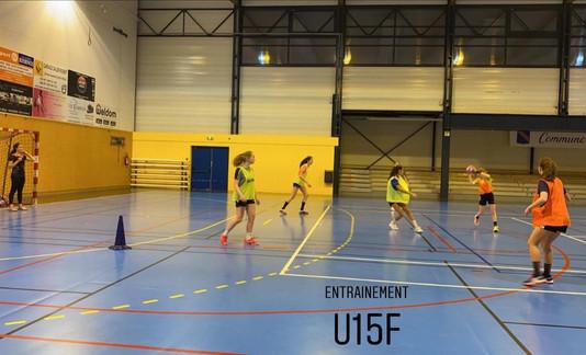 ENTRAINEMENTS U15 F