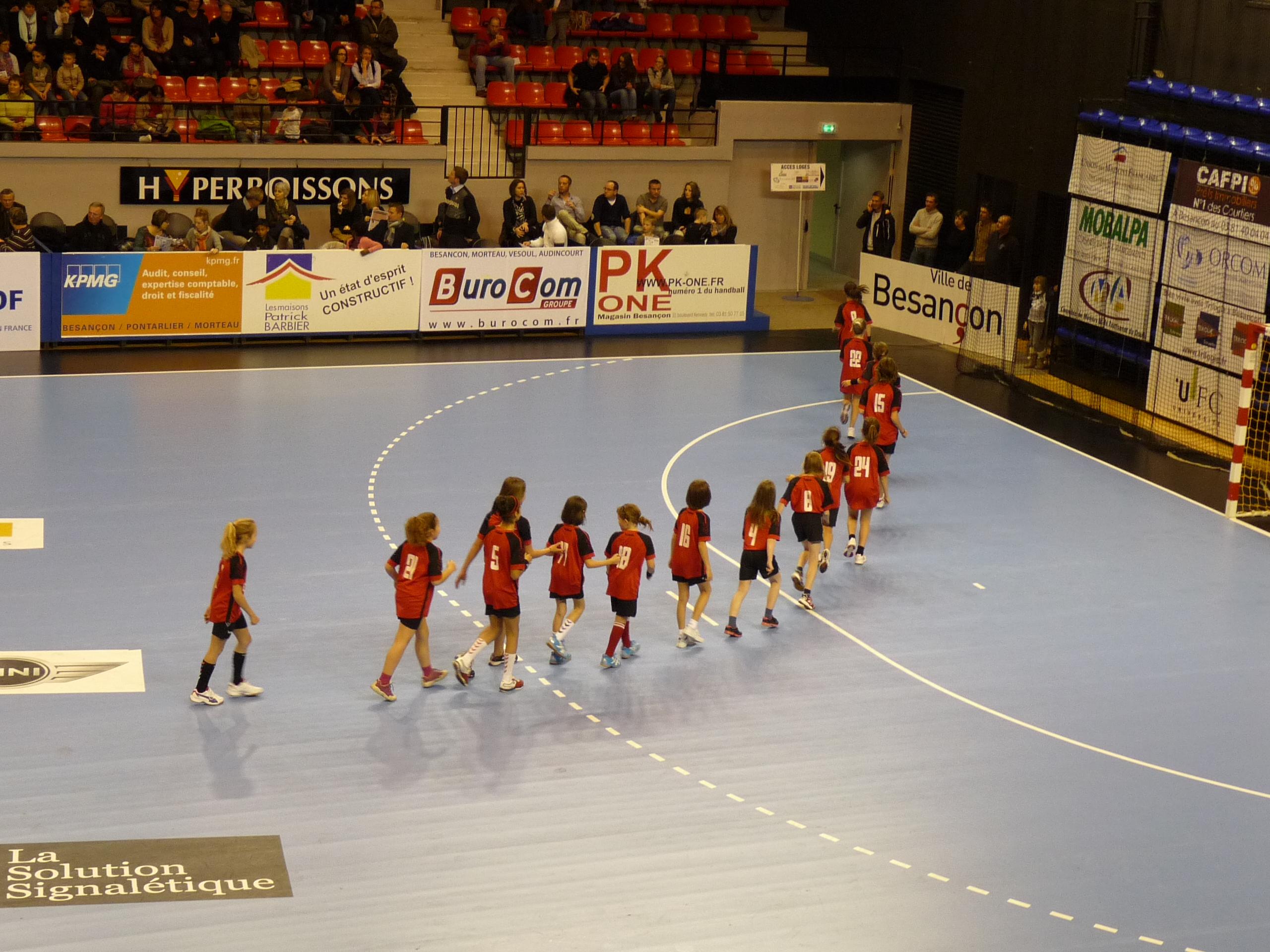 Place au match