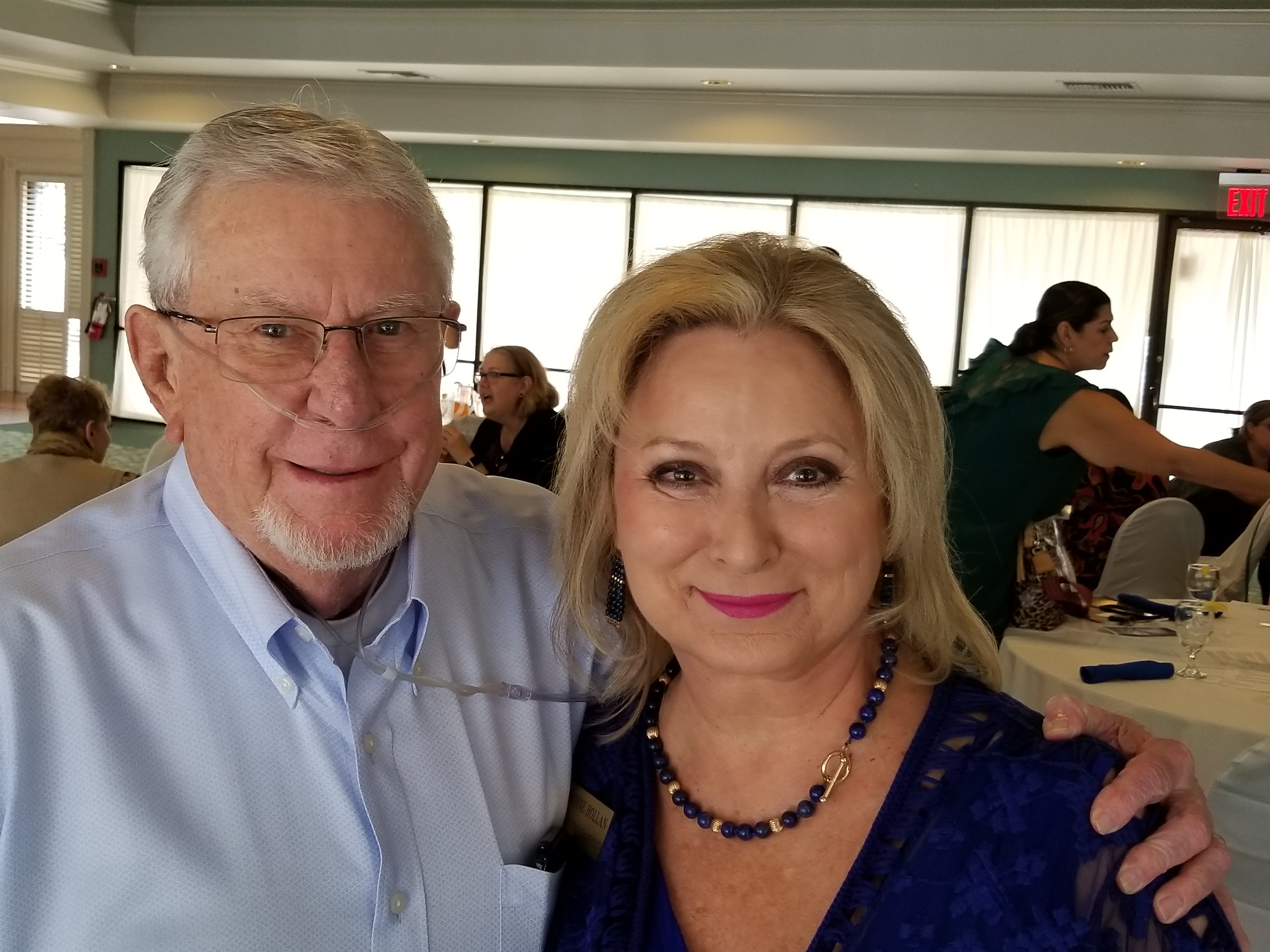 Jim and Christine