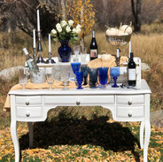 Antique Inspired White Table
