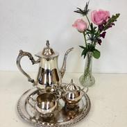 Silver Tea Pot Set