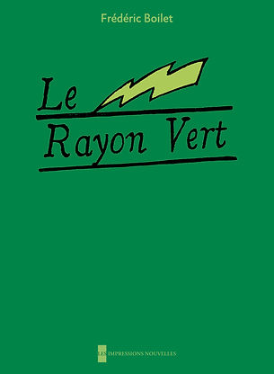 Le Rayon vert (The Green Ray), by Frédéric Boilet
