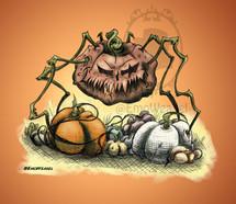 Demonic pumpkin