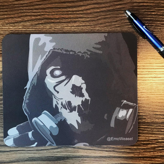 Scarecrow mouse pad
