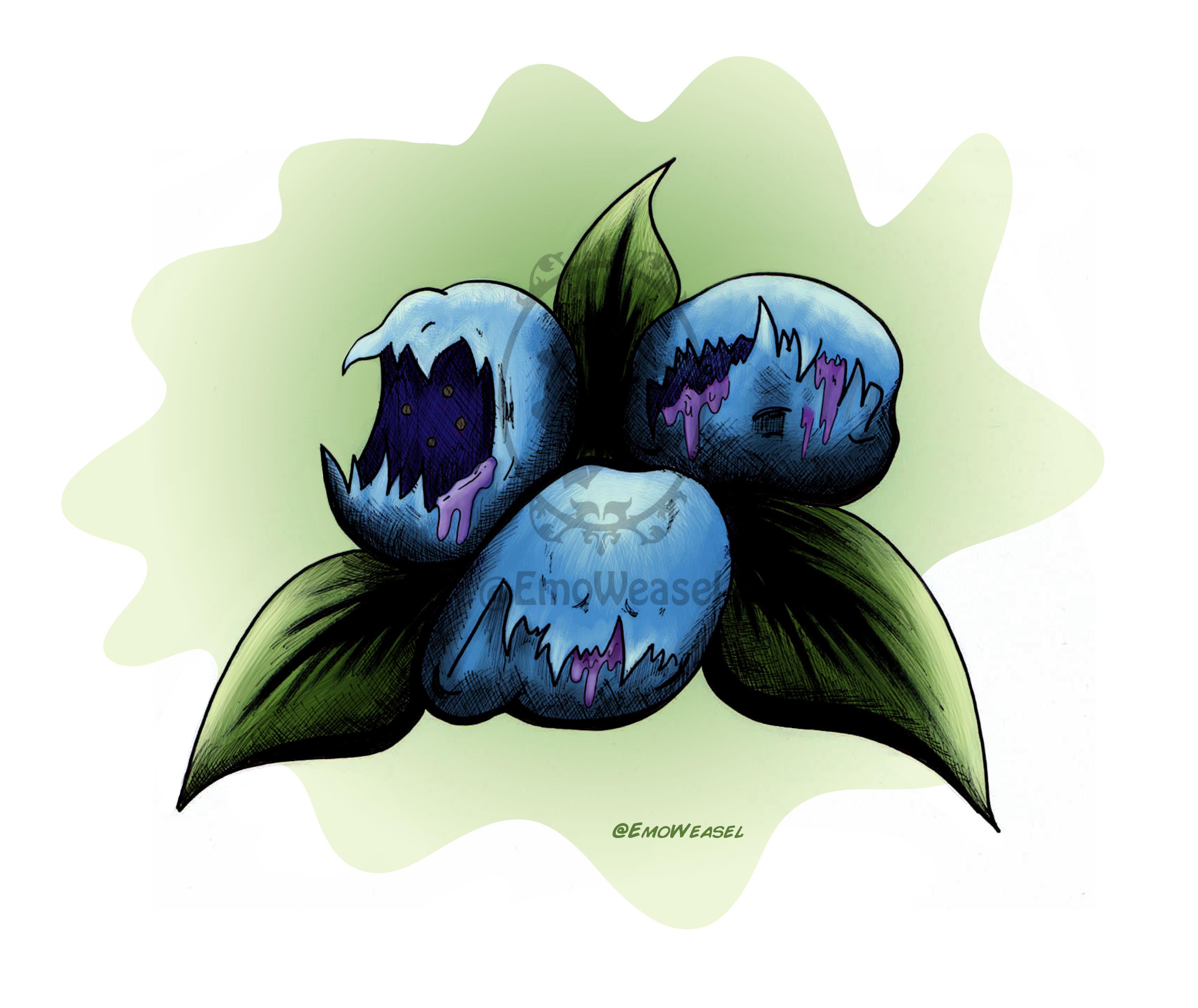 brutal blueberry