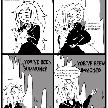 you've been summond pg. 2