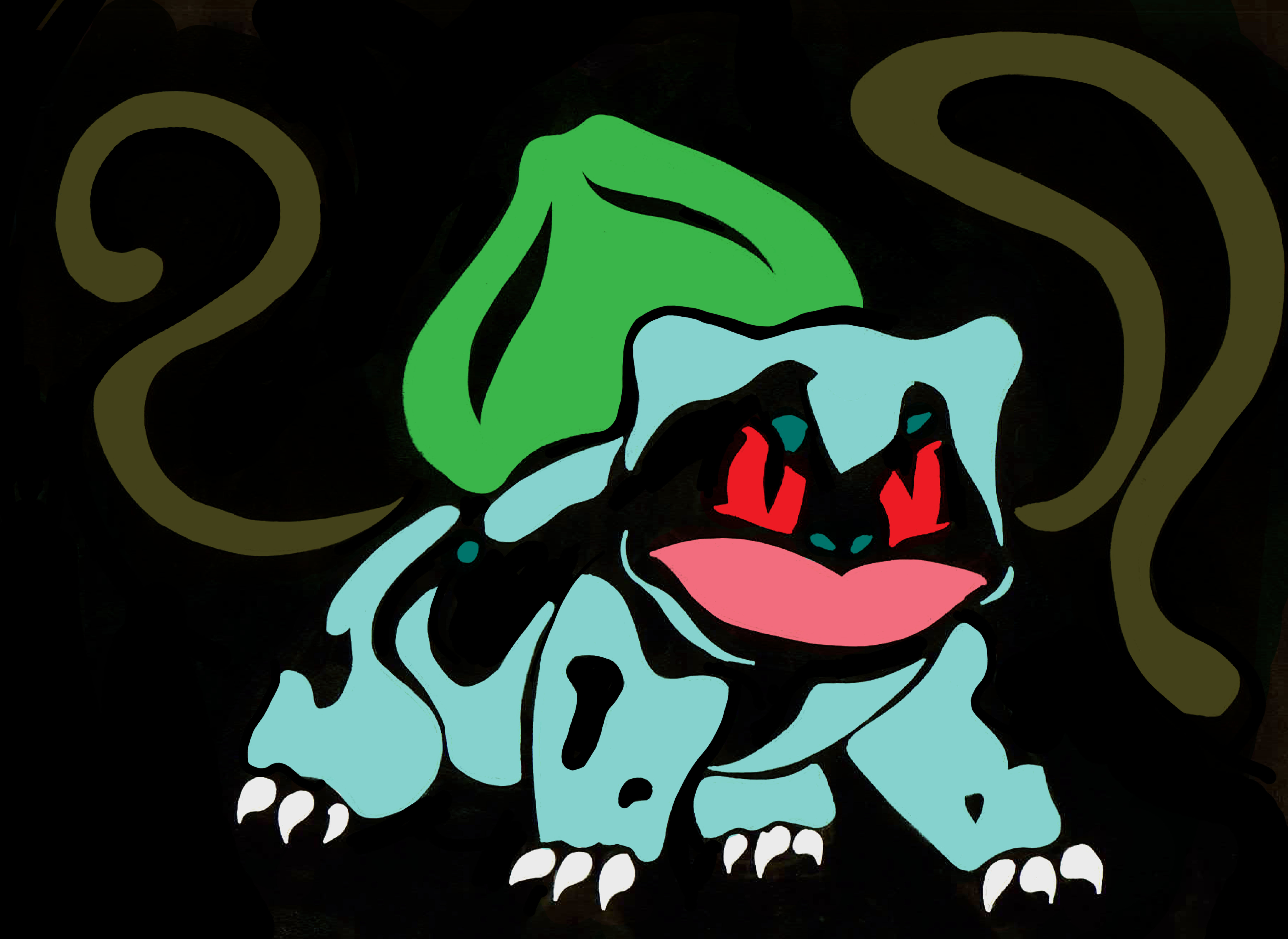 tribal bulbasaur