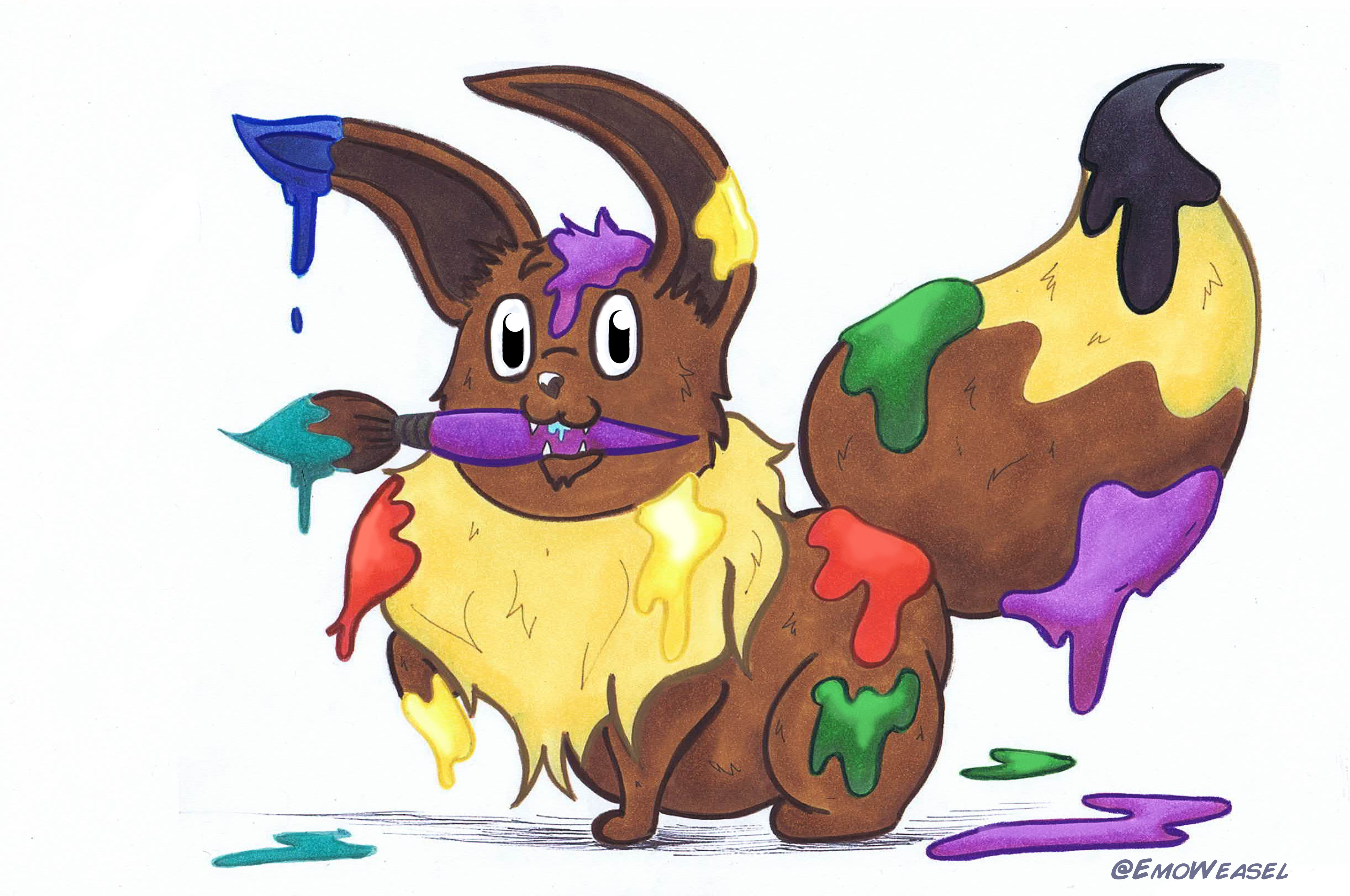 Eevee paint evaluations
