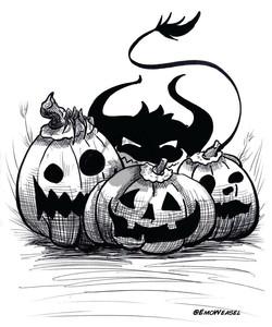 Pumpkin patch Ghoul