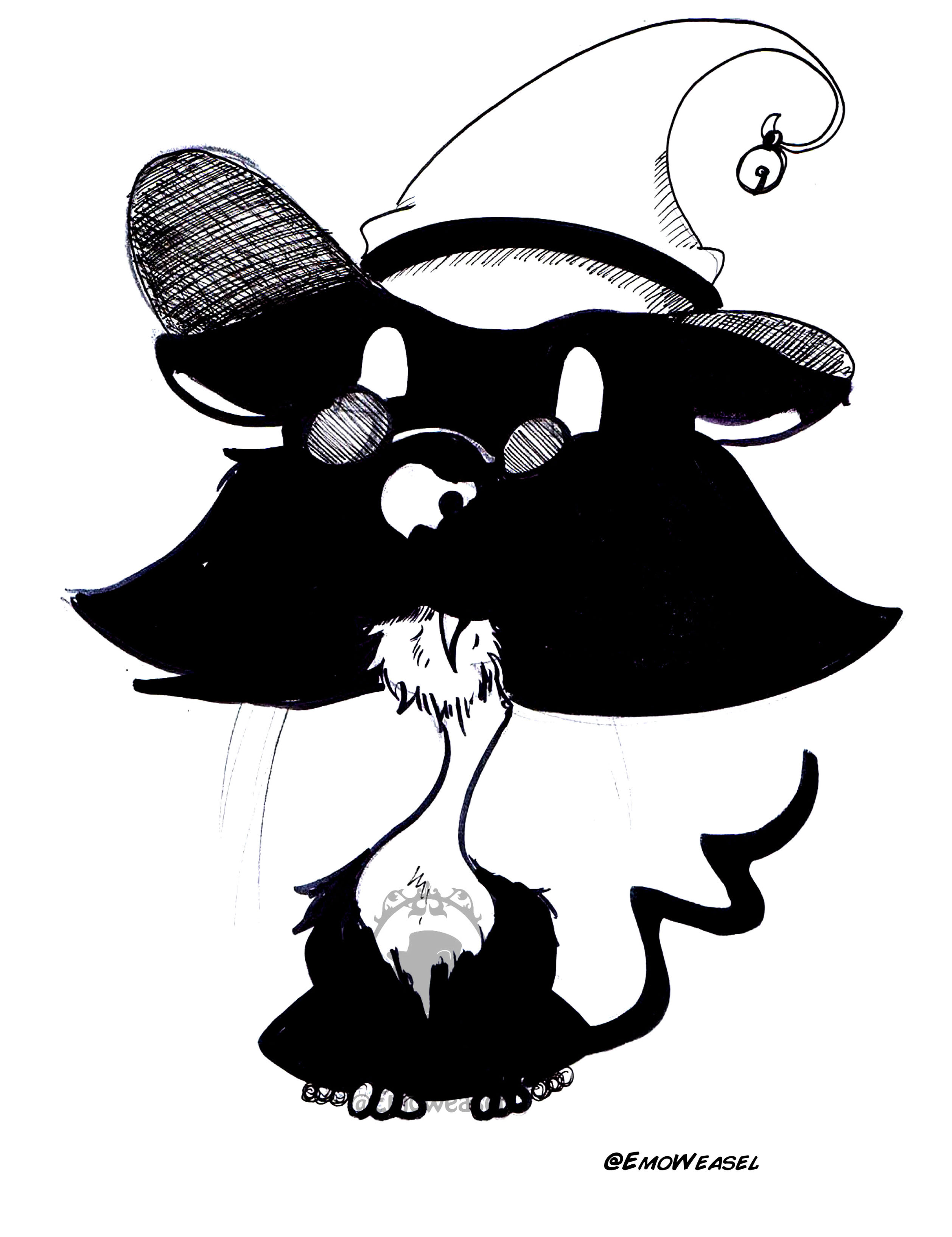 Witch kitten
