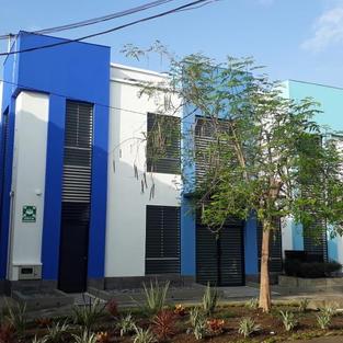 Diseño clínica, puesto de salud, centro de salud, arquitectura hospitalaria