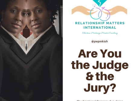 Are You the Judge & the Jury?