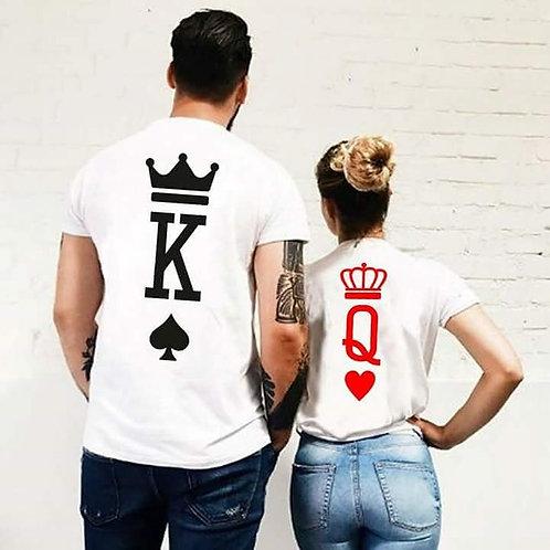 King Queen Heart Tshirt