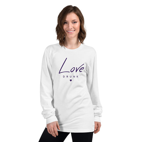 Love Drunk Long sleeve t-shirt