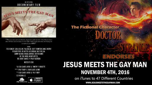 DR. STRANGE LOVES JESUS MEETS THE GAY MAN DOC FILM
