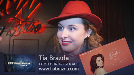 COMING UP! Jazz Vocalist Tia Brazda