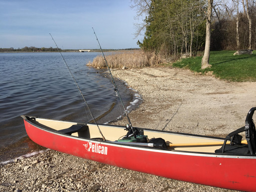 A COLD, LIFE SAVING, FISHING STORY