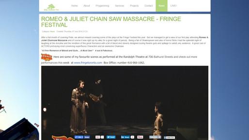 ROMEO & JULIET CHAIN SAW MASSACRE - FRINGE FESTIVAL