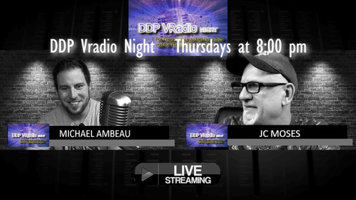 DDP Vradio Night is back Tonight at 8:00 pm