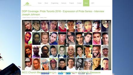 DDP Coverage - Pride Toronto 2016 - Expressions of Pride Series - Interview Joseph Johnson