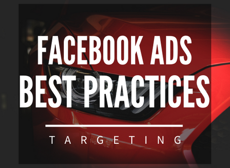6 Facebook Ads Best Practices For Targeting Car Buyers