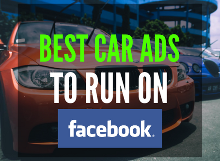 The Best Car Ads To Run On Facebook