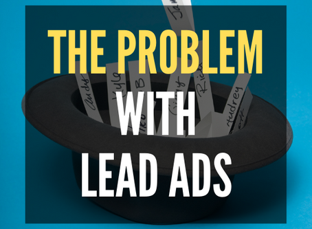 The Problem With Facebook Leads