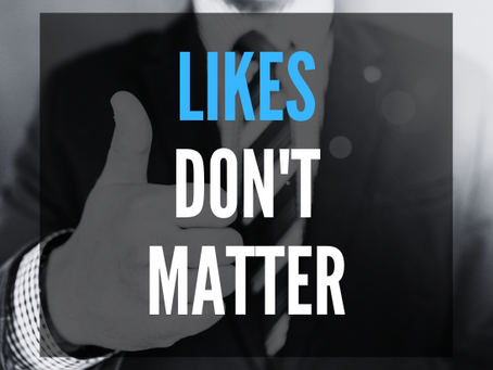 3 Reasons Facebook Likes DON'T MATTER For Your Dealership