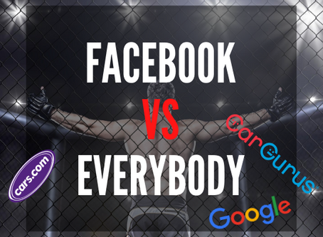 How Facebook compares to Google AdWords, CarGurus, Cars.com