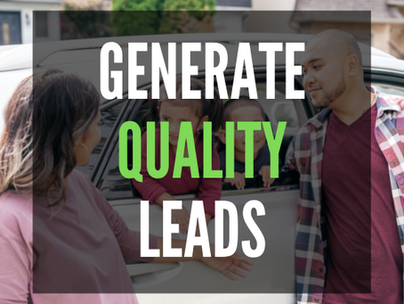 How To Generate QUALITY LEADS for Car Dealerships on Facebook