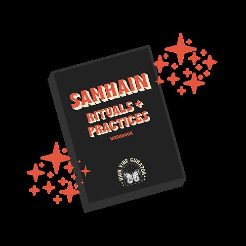Samhain Rituals + Practices Workbook