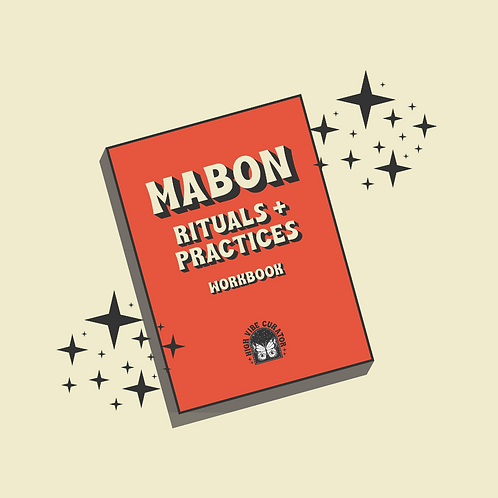 Mabon ~ Rituals + Practices Workbook