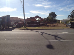 Demolition site clearance