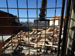 Mid way through House Demolition