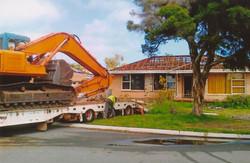 House Demolition starting
