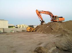 Commercial site clean