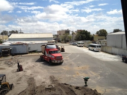 Final demolition site clean