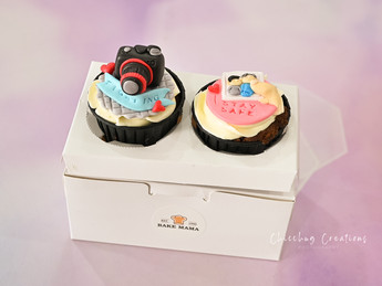 Lovely cupcakes from Bake Mama