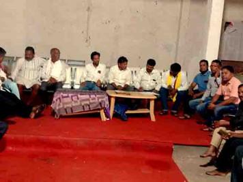 चिचोली : विश्व आदिवासी दिवस की तैयारी को लेकर बैठक आयोजित हुआ।