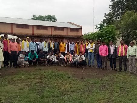 9 अगस्त को लेकर युवा आदिवासी विकास संगठन & आकास आठनेर कि बैठक सम्पन