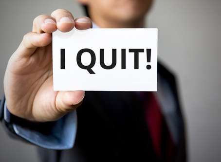 """I Quit! How Bad is """"Intolerable"""" for Purposes of a Constructive Discharge?"""