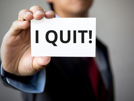"I Quit! How Bad is ""Intolerable"" for Purposes of a Constructive Discharge?"