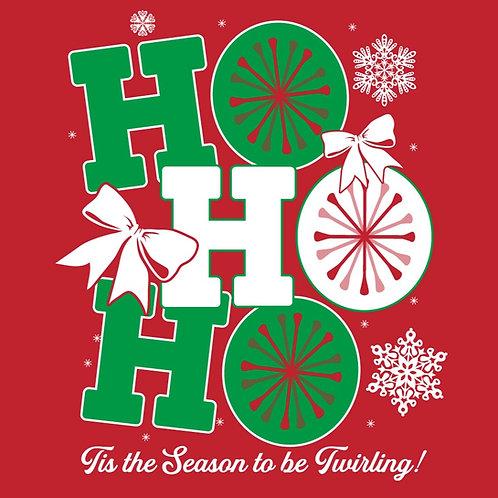 Christmas Twirling T-Shirt