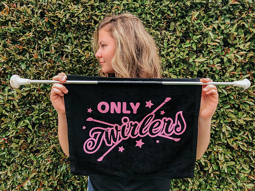 Only Twirlers towel