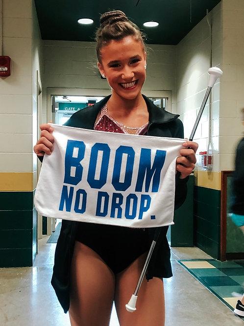 BOOM. NO DROP. Towel