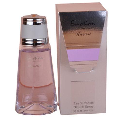 Emotion Eau De Parfum Spray 50ml For Women By Rasasi Perfumes $37