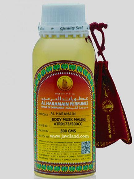 Body Musk Malaki  Oil 500 g By Al Haramain Perfumes