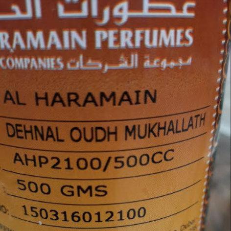 Dehn Al Oudh Mukhallat Oil 500 gm By Al Harmain Perfumes $ 165